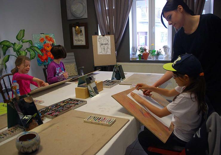 Club de pictura pentru copii