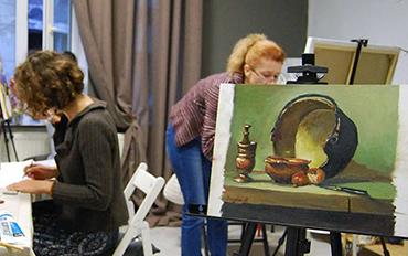 Clubul de pictura adulti